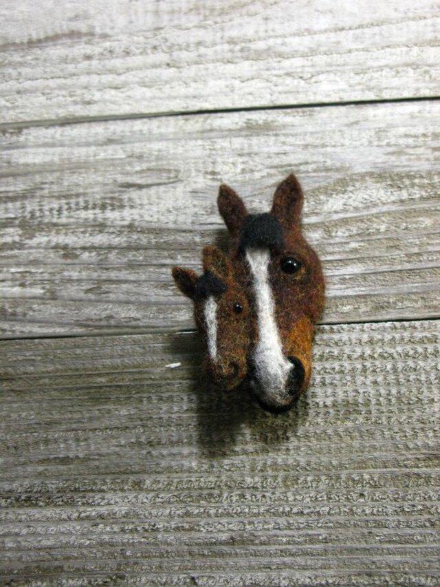 """子馬のブローチ """"ぼくのお母さんを紹介します""""の画像1枚目"""