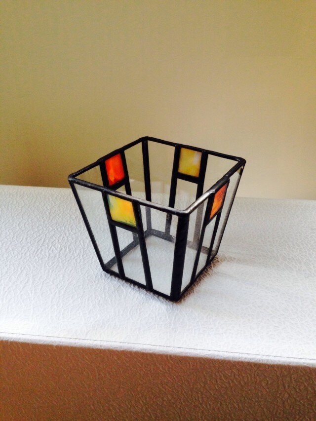 box オレンジ・黄色(yoshiko yano)の画像1枚目