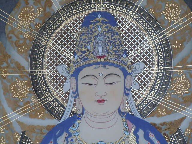 勢至菩薩像(A-4)の画像1枚目