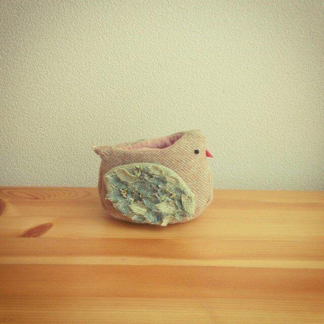 『hinata』小鳥の小物入れの画像1枚目