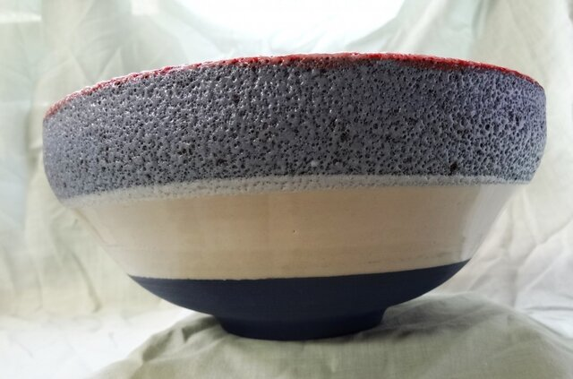 鉢(発泡土 径23.7X高10.4cm) の画像1枚目