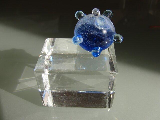 香立て(海の子ミュー)ブルーの画像1枚目