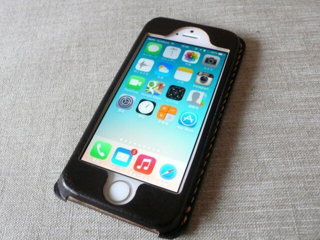 【受注制作】iPhoneケース《5/5S/SE専用》|チョコの画像1枚目