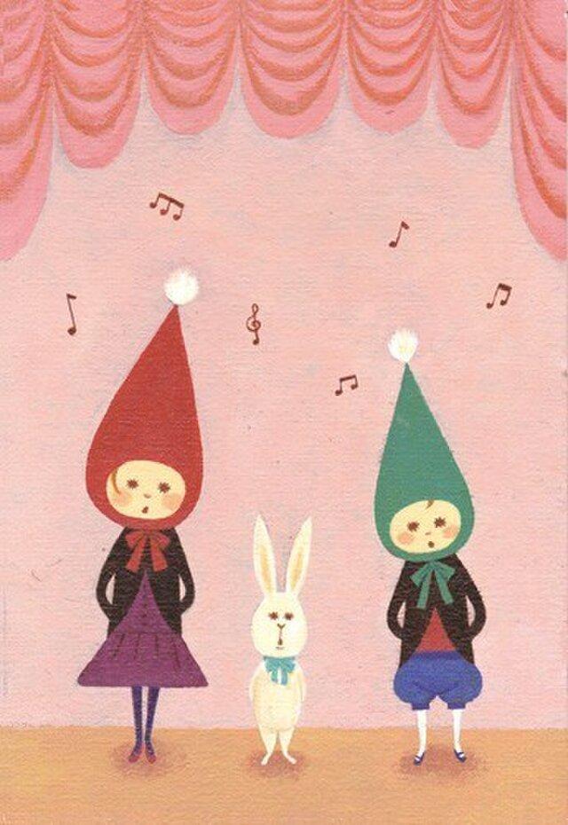 ポストカード「合唱コンクール」の画像1枚目