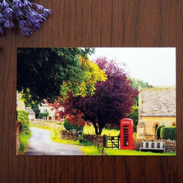 ポストカード同柄5枚組 英国コッツウォルズの風景Bの画像1枚目