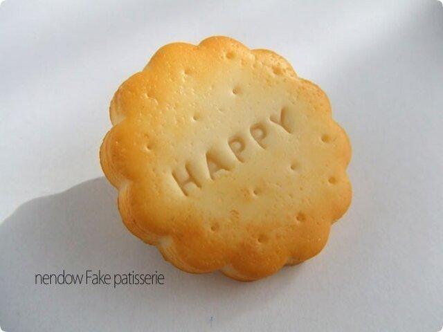 HAPPYクッキーブローチの画像1枚目