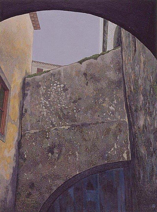 古い石塀の画像1枚目