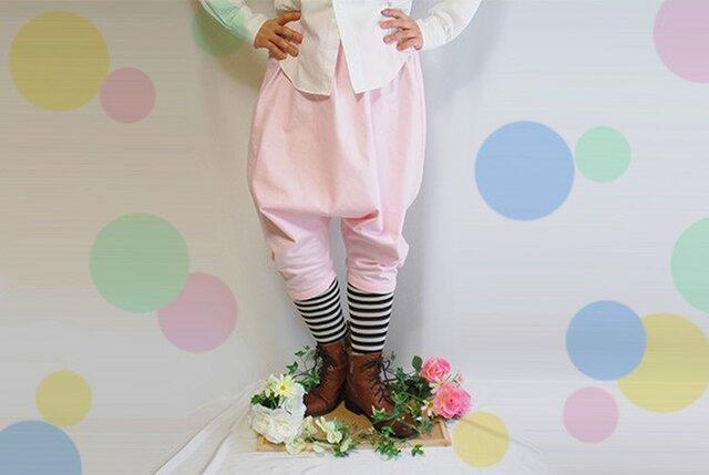イースターバニーパンツ(ピンク)の画像1枚目
