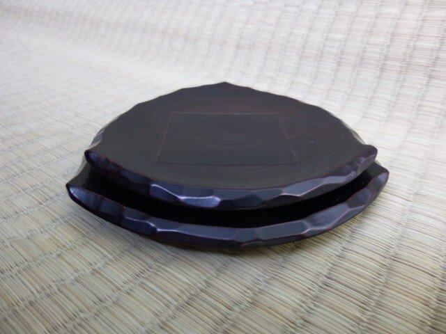 おむすび皿(黒)の画像1枚目