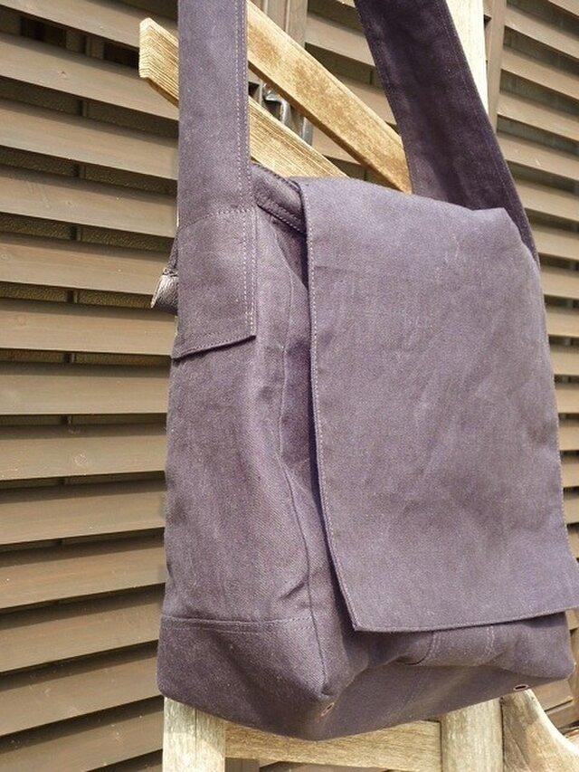 麻帆布のかばんの画像1枚目