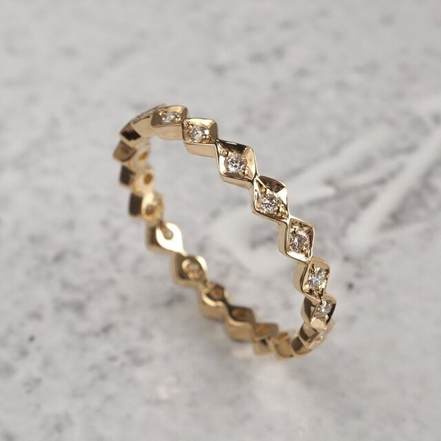K18YG Eternity ring {R043K18YG}の画像1枚目