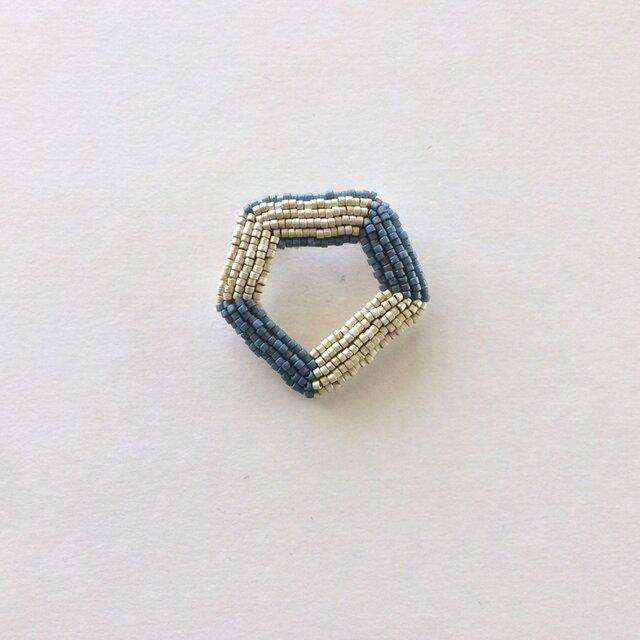 星屑ブローチ typeB BLUEの画像1枚目