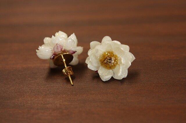 【再販】花かんざしのピアスの画像1枚目