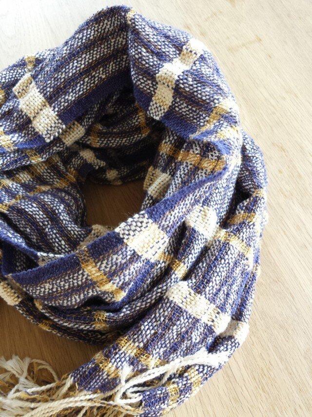 【手織り】木綿のストール#06の画像1枚目