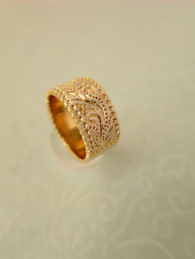 SV Botanical Ring goldの画像1枚目