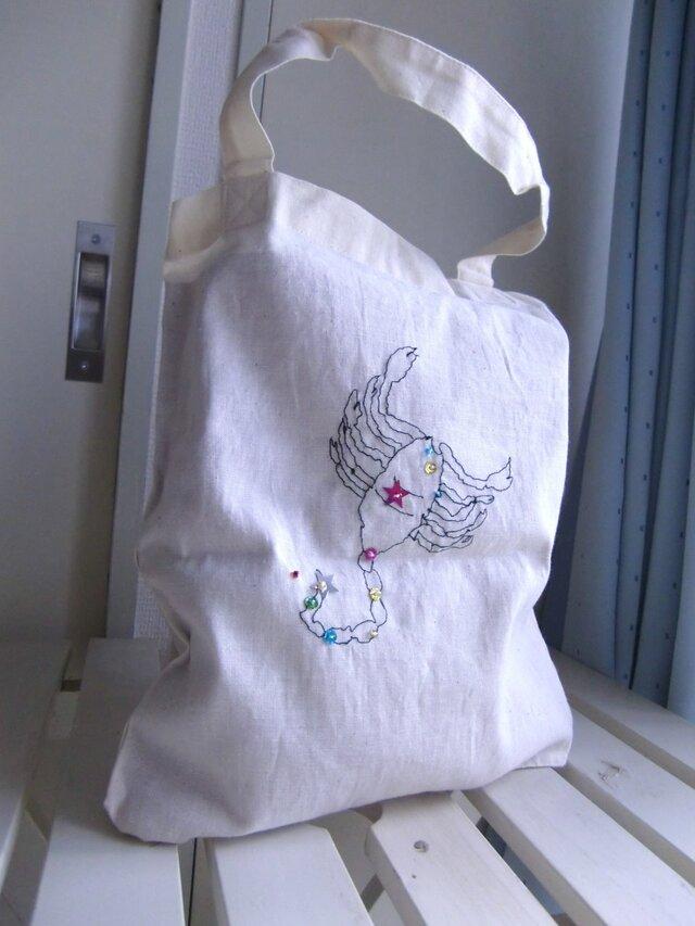 12星座の刺繍バッグの画像1枚目