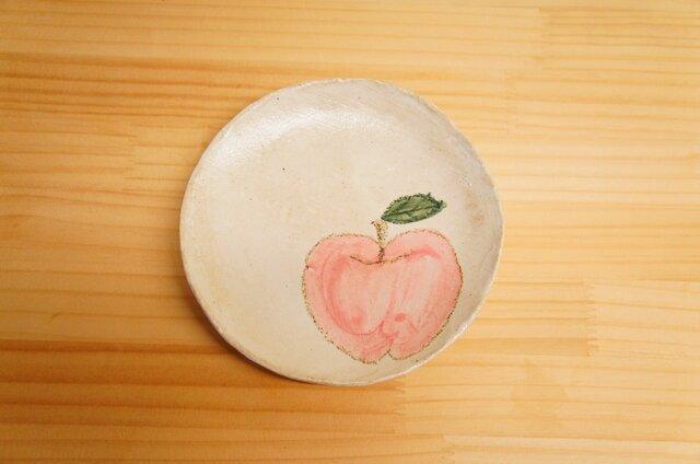 粉引リンゴのケーキ皿の画像1枚目