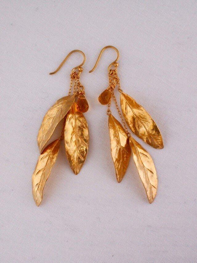 leaf pierce/chitrineの画像1枚目