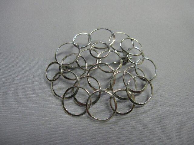Silver brooch ②の画像1枚目