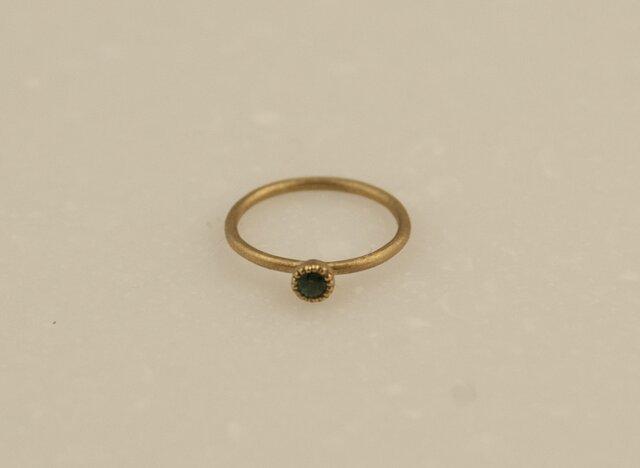 Ring -tourmaline/Mille settingの画像1枚目