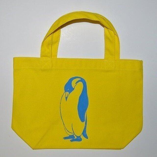 ペンギントートバッグ、ペンギン、penguin, 送料無料の画像1枚目