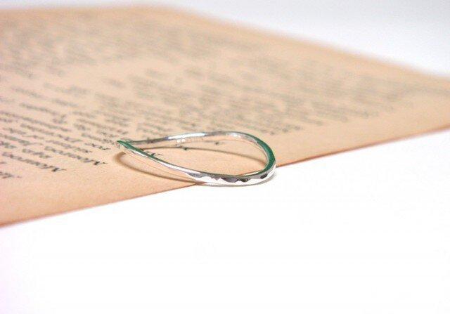 Silver curve ring(シルバーカーブリング)の画像1枚目