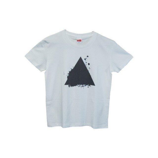 6.2oz Tシャツ w GL(Girls-L) サンカクの画像1枚目