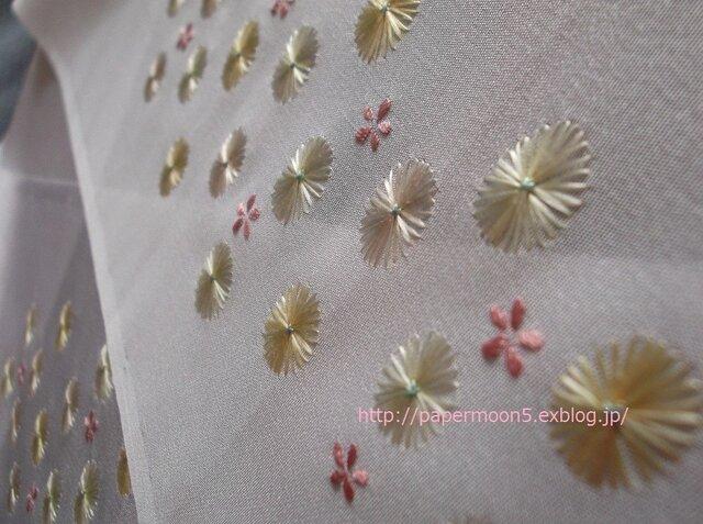 半襟「丸菊」の画像1枚目
