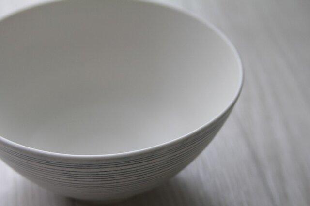 青線刻 飯碗の画像1枚目