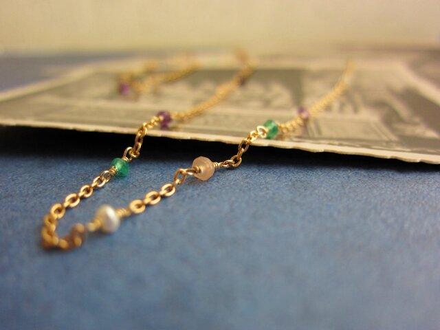 花咲く甍のネックレスの画像1枚目