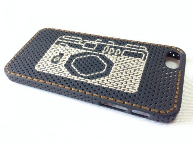 刺繍iPhoneケース【iPhone5】の画像1枚目