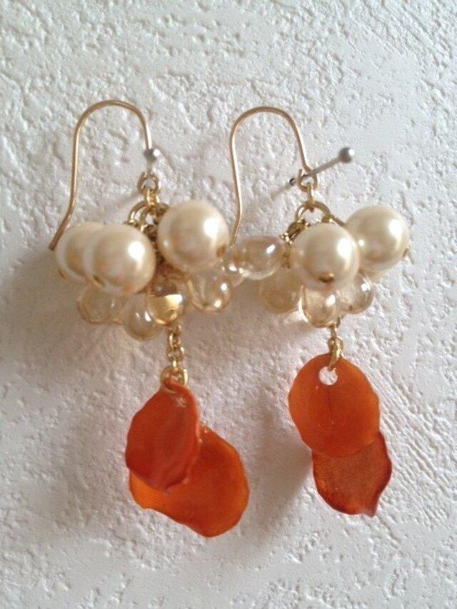 earrings flower 1の画像1枚目