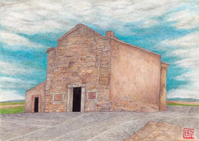 丘の上の聖堂~モンサラーシュにての画像1枚目