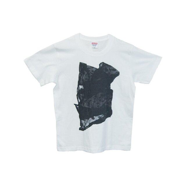 6.2oz Tシャツ white S レース3の画像1枚目