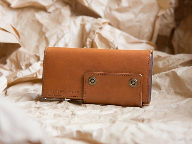 Wallet【Garcia】#cognacの画像1枚目