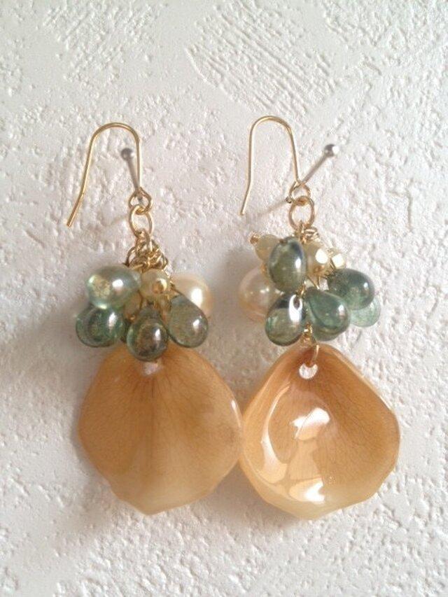 earrings flower 2の画像1枚目