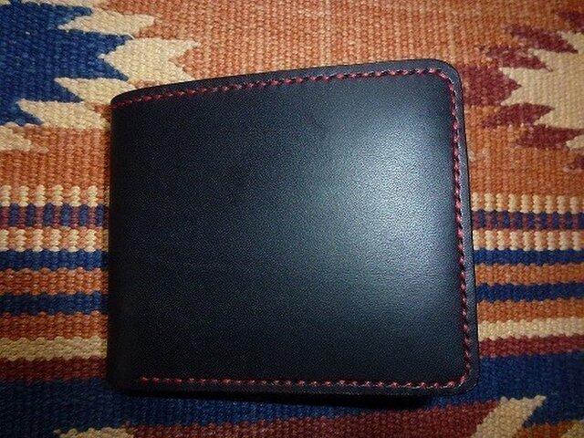 Black&Red 財布の画像1枚目
