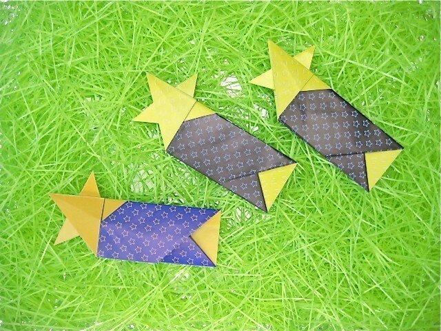 星の箸袋の画像1枚目