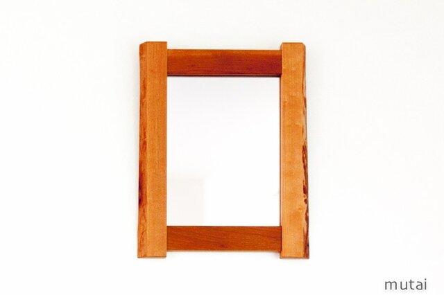耳付き材の鏡の画像1枚目