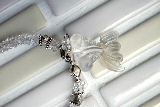 金魚(クリスタル)のネックレスの画像1枚目