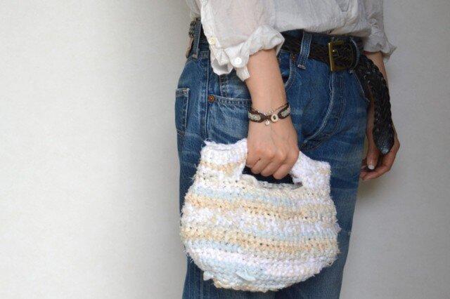Scrap Fabric Knitting Bag_001の画像1枚目