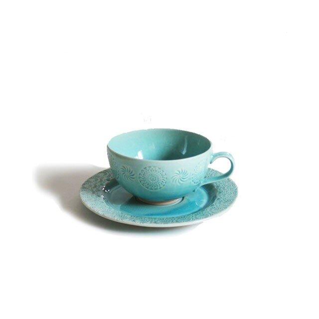 Ståmp カップ&ソーサー Blueの画像1枚目