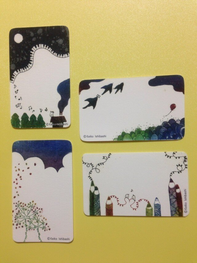 名刺サイズのプチカードの画像1枚目