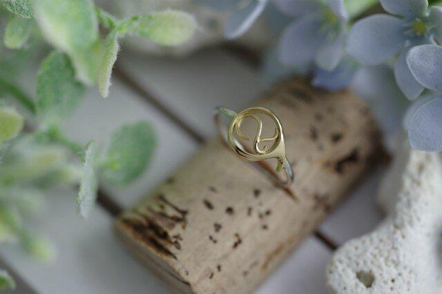 number 2 ring (K14 plating)の画像1枚目