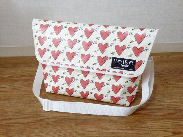 Paper Messengerbag 「Cupid」Lの画像1枚目
