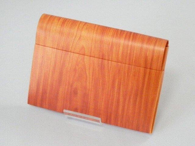 Paper Cardcase「wood」の画像1枚目
