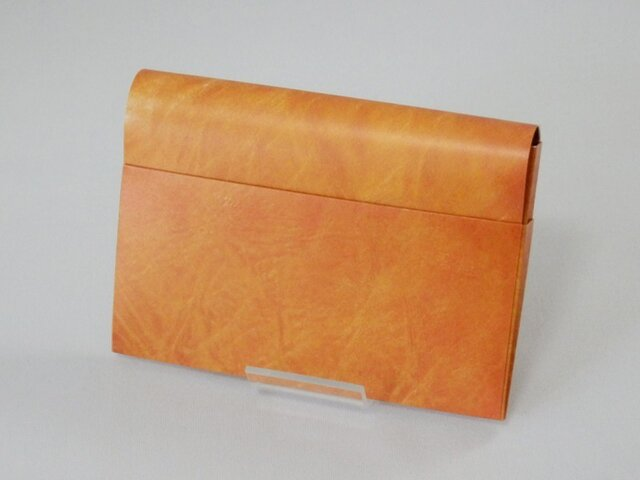 Paper Cardcase「Leather(brown)」の画像1枚目