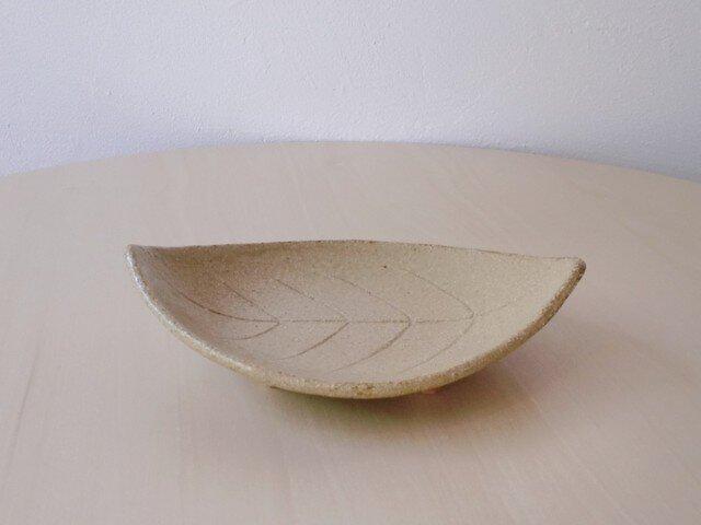 足付き 木の葉皿の画像1枚目