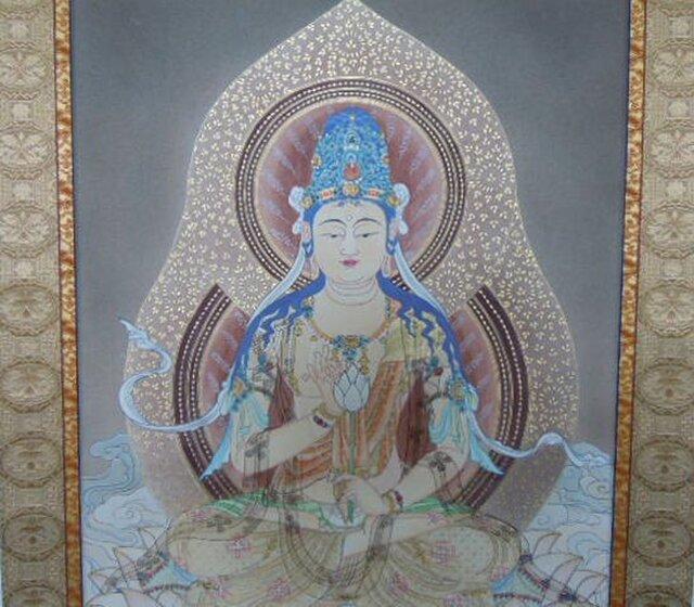 聖観音菩薩像(B-4)の画像1枚目