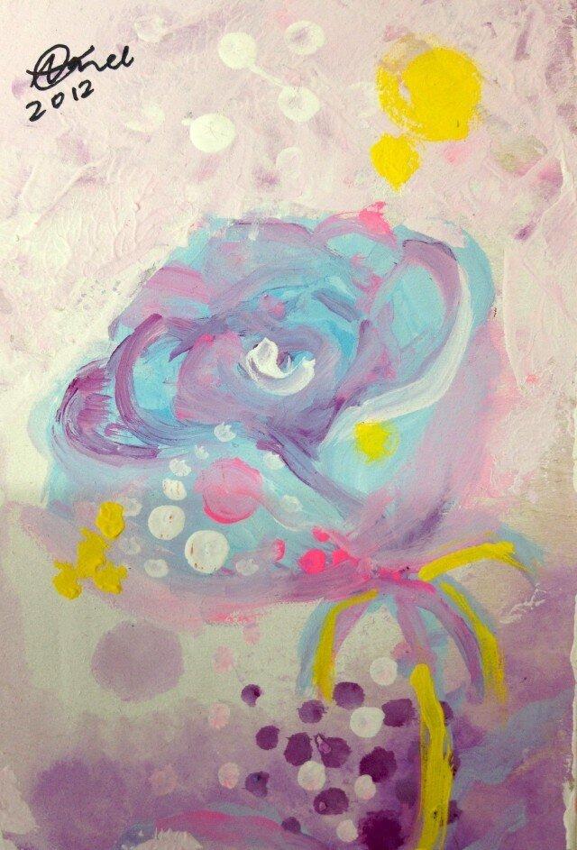 小さなバラの画像1枚目